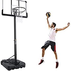 Portable Basketball Hoop & Goal Basketball System Basketball Stand Height Adjustable for Sale in South El Monte, CA