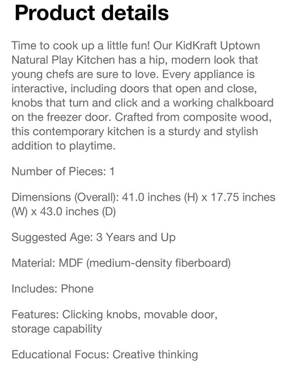 Play kitchen be win box