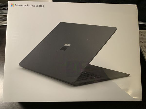 """BRAND NEW- Microsoft - Surface Laptop 2 - 13.5"""" Touch-Screen - Intel Core i7 - 8GB Memory - 256GB Solid State Drive (Latest Model) - Black"""