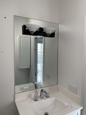 Cabinet with mirror and light for Sale in Naples, FL