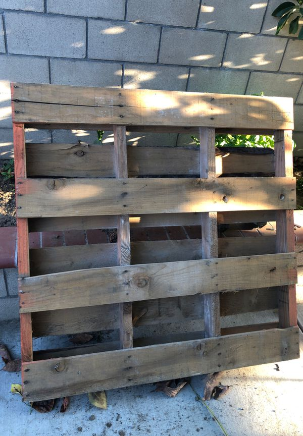 Pallet (for forklifting heavy items)