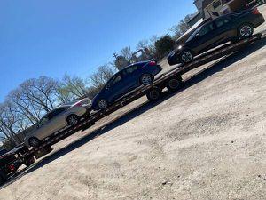 2018 Kaufman trailer tandom axle dully tire for Sale in Naperville, IL