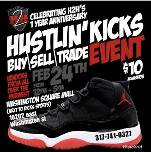 5ff8b3169cc9 Hustlin kicks event(5 vendor spots left) for Sale in Indianapolis