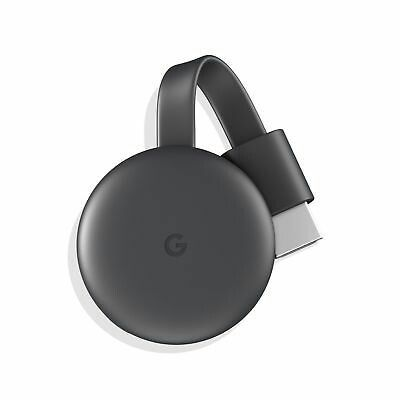 Google Chromecast 3rd Generation 2019/edition HDMI Streaming Media Player
