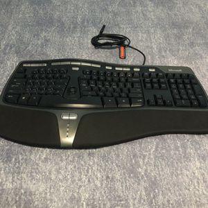 microsoft natural ergonomic keyboard 4000 for Sale in Miami, FL