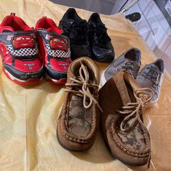 3 Pairs boys shoes Sz 10 &11 for Sale in Midwest City,  OK