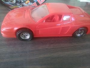 plastic Ferrari toy car for Sale in Los Angeles, CA