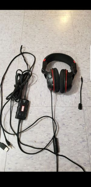 Turtle beach ear force seven marvel thor gaming headphones. For pc, xbox 360, ps3, mac and mobile for Sale in Brockton, MA