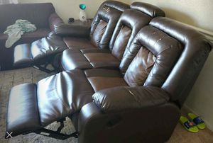 3 Seater Recliner Sofa for Sale in MIDDLEBRG HTS, OH