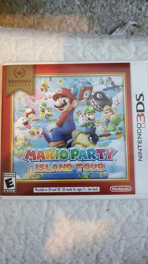 Mario Party Island Tour (Nintendo 3DS) for Sale in San Antonio, TX
