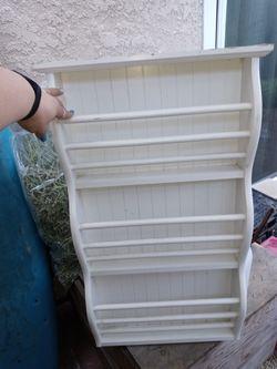 Pottery Barn Wall Book/Magazine Rack for Sale in Huntington Beach,  CA