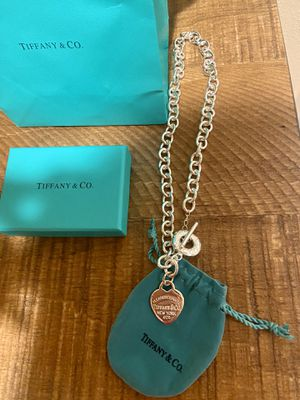 .925 Sterling Silver Tiffany & Conpany Necklace for Sale in Federal Way, WA