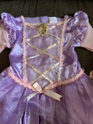 Disney Princess Rapunzel dress sz. XS (3t-4t) for Sale in San Antonio, TX