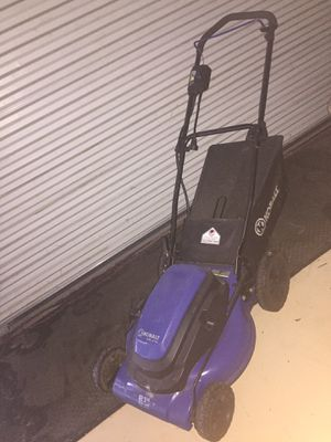 Newer electric mower for Sale in Haines City, FL