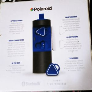 NewPolaroid True Wireless Rechargeable Ear Buds for Sale in Dallas, TX