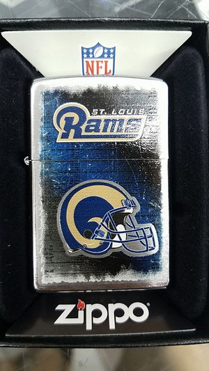 Zippo NFL rams brushed chrome 28218 for Sale in Los Angeles, CA