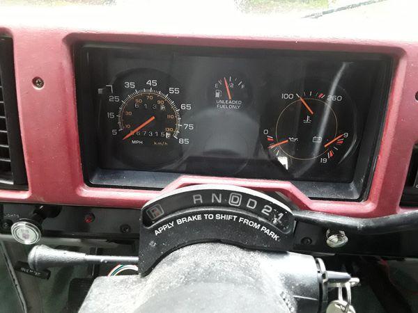 1993 chevy G20 160,000mi orig