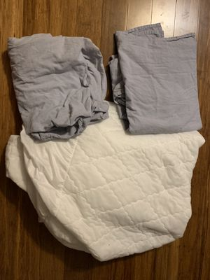 Twin sheets and mattress cover for Sale in Davenport, FL