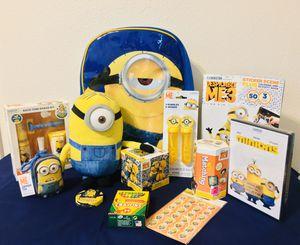 Minion Toy Bundle / Gift Set for Sale in San Bernardino, CA