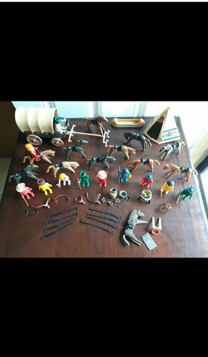 1974 Playmobil Geobra Western Vintage Toys for Sale in Irving, TX