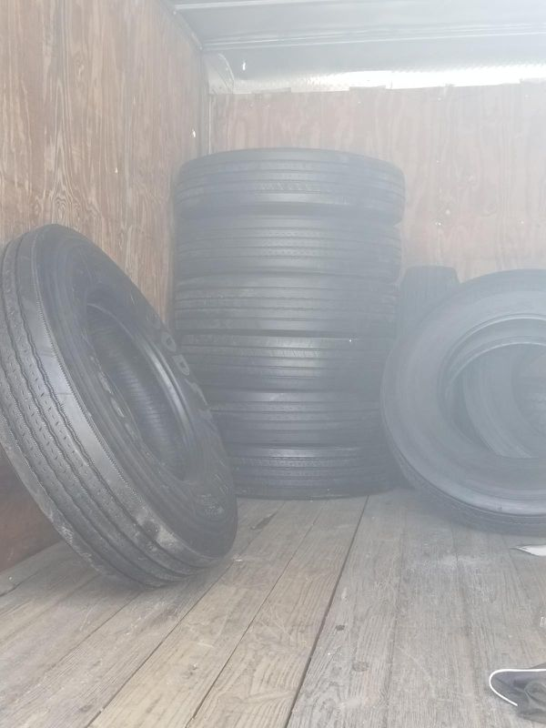 Used and new semi tires