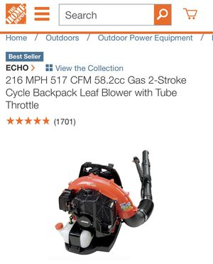 New Leaf Blower for Sale in Baltimore, MD