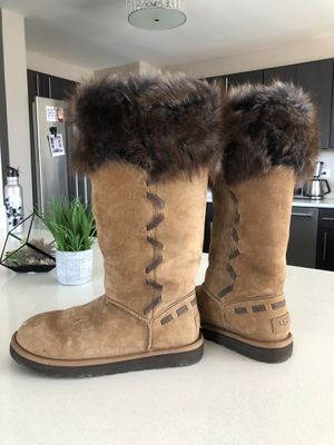 Furry Ugg Boots - Brand New, Size 7 for Sale in Denver, CO