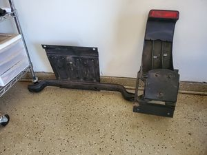 Jeep wrangler , spare tire mount bracket and light for Sale in Phoenix, AZ