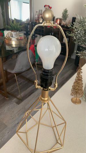 Gold lamp for Sale in Miami, FL
