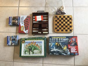 Assortment of games and puzzles for those rainy days for Sale in Lauderdale-by-the-Sea, FL