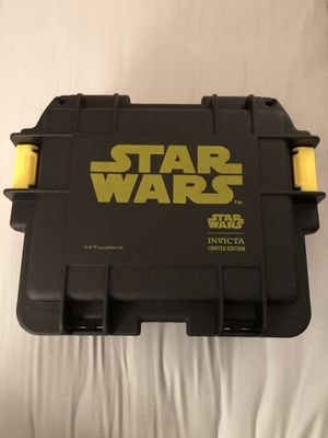 Limited edition Star Wars 3 Slot Dive Case for Sale in Germantown, MD