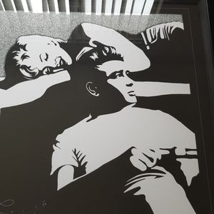 Marilyn Monroe And Elvis Presley Big Glass Picture for Sale in Las Vegas, NV