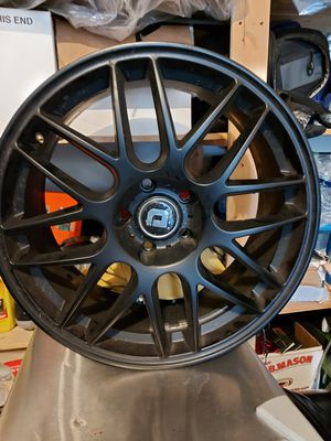 DR-37 DRAG Rims 19x8 in Black Wheels for Sale in Columbia, MD