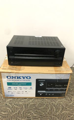 ONKYO TX-NR636 7.2 Reciever Bluetooth Wifi Spotify DTS 4K HDMI USB AS IS for Sale in Anaheim, CA