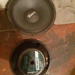 2 12s Timpano Loudspeakers for Sale in Philadelphia, PA