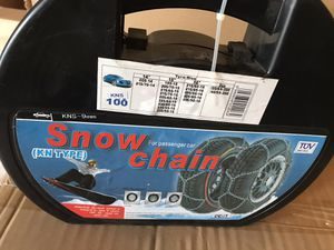 Snow chain for your car for Sale in Renton, WA