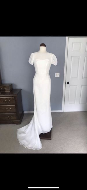 New Wedding Dress with Matching Veil for Sale in Raleigh, NC