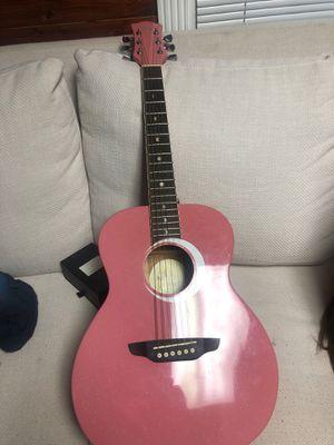 Pink acoustic guitar for Sale in Powder Springs, GA