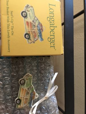 Longaberger tie on for Sale in Ridgefield, WA