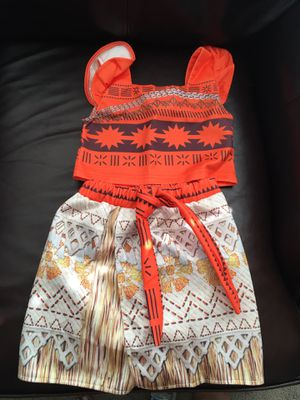 Moana costume *New* 3T for Sale in Bakersfield, CA