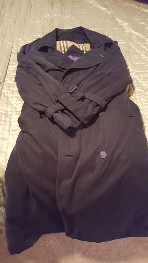 Large Burberry Coat - Men's for Sale in Seattle, WA