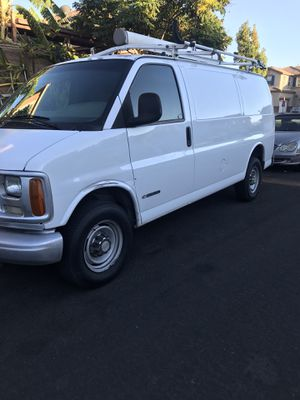 2000 chevy cargo van express 120.000 mile for Sale in Los Angeles, CA