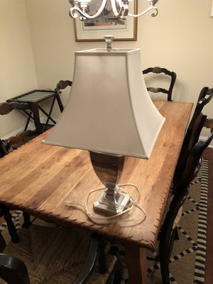 Restoration Hardware Lamp with shade for Sale in Raleigh, NC