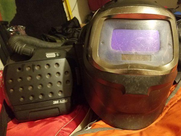 Profesional welder helmet Speed Glas 3M /ADLFO