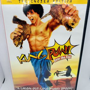 KUNG POW! Enter The Fist DVD Steve Oedekerk OOP Rare HTF for Sale in Orting, WA