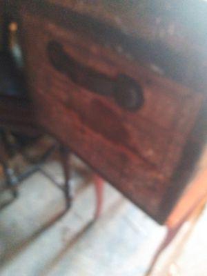 Old wooden trunck for Sale in Bristol, TN