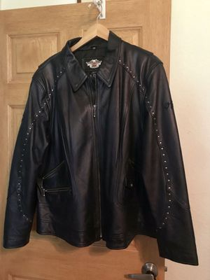 Harley Davidson ladies leather jacket for Sale in Valley Center, KS