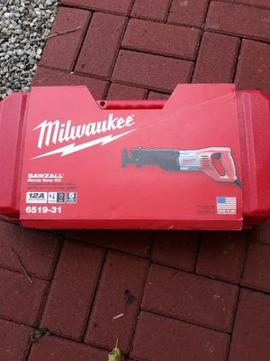 Electric sawzall brand in box for Sale in NO BRENTWOOD, MD