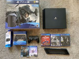 Sony PlayStation 4 PS4 Pro 1tb Bundle for Sale in Seattle, WA