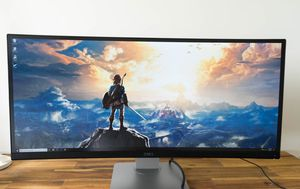 """34"""" 1440p Ultrawide Monitor - Dell U3415W UltraSharp 21:9 Curved Widescreen for Sale in Queens, NY"""